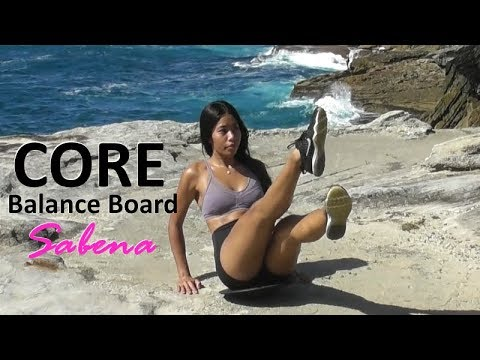How to get Abs fast with a Balance Board (45mins core workout)