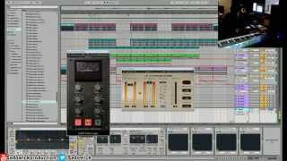 Producing Deep House Start To Finish - Ableton live 9 & Zenhiser Blissed Out Deep House