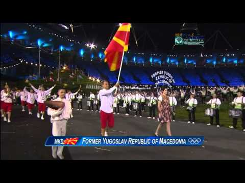 London 2012 Opening Ceremony, Former Yugoslav Republic of Macedonia