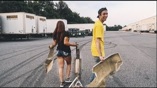 I LET THIS HOT GIRL DRIFT MY CAR! I WRECKED..