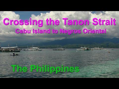 Crossing the Tanon Strait – Cebu Island to Negros Oriental, Philippines