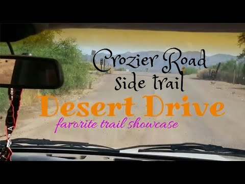 Desert Drive - 14 - Crozier Road side trail