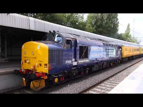 37425 `Sir Robert McAlpine` Test Train @ Stafford ,16-09-13