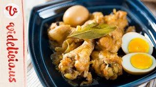 チキン・アドボ(鶏肉のさっぱり煮)|How to make Chicken Adobo