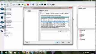 Connecting GNS3 with VMware Workstation