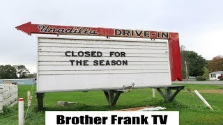 Unadilla Drive-In Theatre (Unedited) A Real Gem!!!