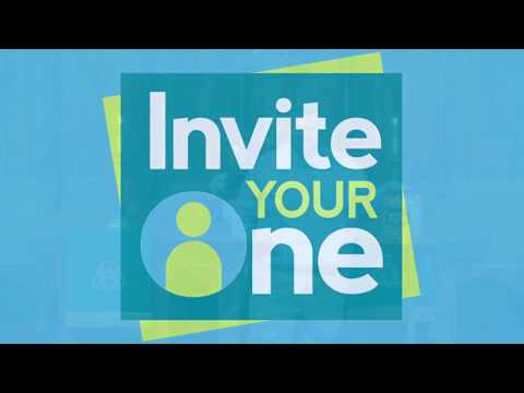Invite Your One - A Greater Church