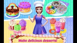 Fun Cooking Kitchen Kids Games - My Bakery Empire - Play Fun Bake, 🎂🎂Decorate & Serve Cakes Games