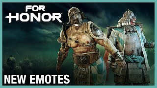 For Honor: New Emotes | Weekly Content Update: 07/02/2020 | Ubisoft [NA]