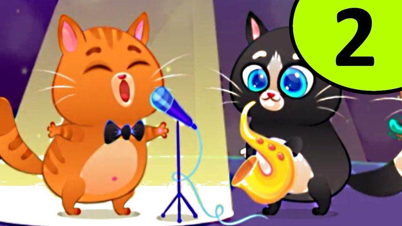 Котик Бубу 2 мультик видео с озвучкой