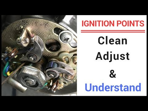 How To Fully Clean, Adjust, and Read Ignition Points