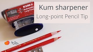 kum pencil sharpener long point sharpener recommendation
