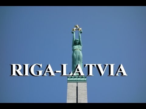 Latvia Riga (Changing of the Guard/Freedom Monument) Part 5