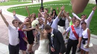"""Свадьба Серёжи и Лены  - """"Ах, эта свадьба, свадьба, свадьба пела..."""""""