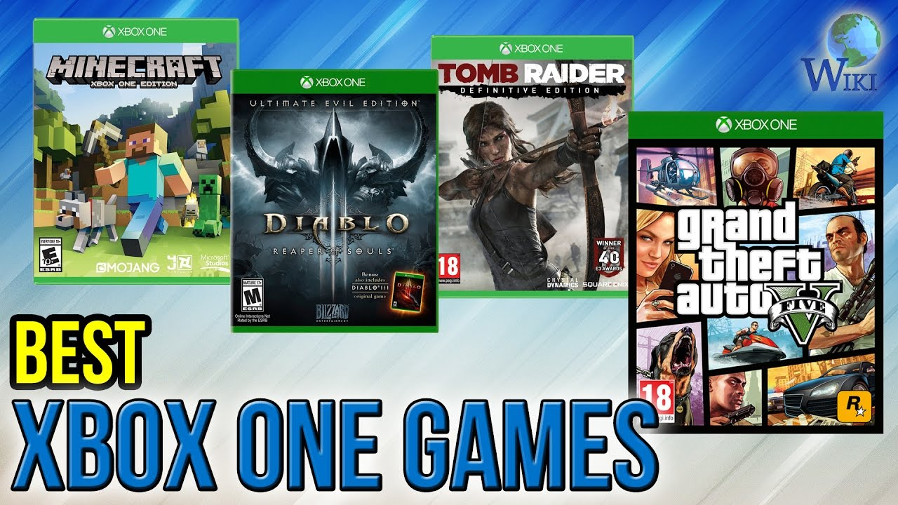 10 Most Popular Xbox Games : Best xbox one games