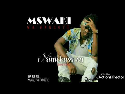 Mswaki wa dangote-Nimekuzoea