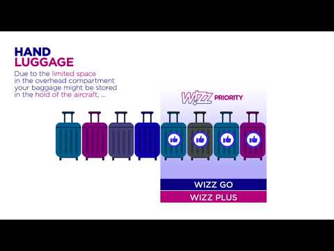 Wizz Air baggage