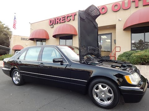 1997 Mercedes Benz S500 92k original miles 1 owner.  Video review and walk around.