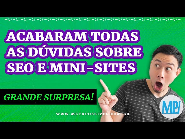 MPResponde | SEO, Mini Sites, Conteúdo, Backlinks, Estrutura e SURPRESA!!!
