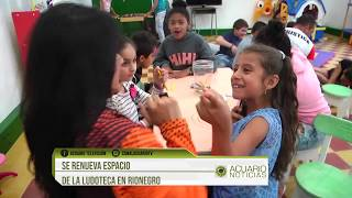 Se renueva espacio de la ludoteca en Rionegro
