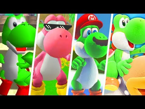 Evolution of Best Yoshi Moments (1996 - 2019)