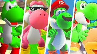 All Yoshi Power Ups