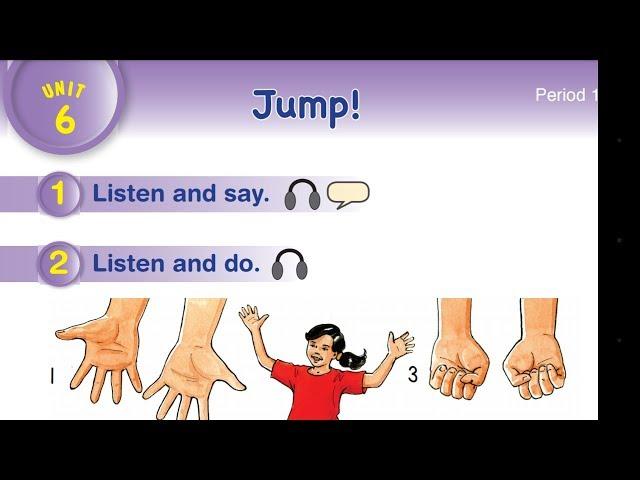 هيا نتعلم كيف نهجي ونكتب كلمات الوحدة 6 (jump) للصف الثاني