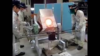 30kg 小型高周波溶解装置 (第一高周波工業株式会社)