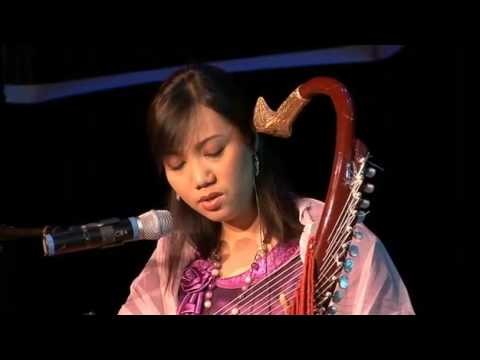 Burmese harp and classical music - Yadana Oo