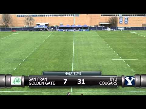 BYU Rugby vs San Francisco Golden Gate - Champions Challenge