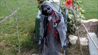 "Halloween ""diy"" Yard Graveyard"