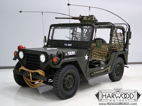 114016 1966 Ford Military Jeep *SOLD*