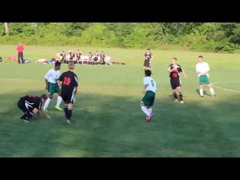 Bishop Brady High School Varsity Soccer 1st game of Season - short clip