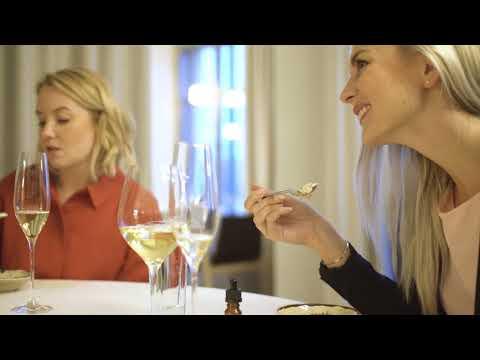 Dinner in restaurant Olo, Helsinki