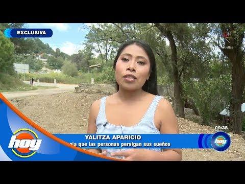 Yalitza Aparicio habla las historias falsas que surgen alrededor de su vida | Hoy