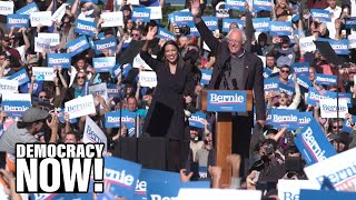 Bernie's Back: AOC Backs Sanders as 26,000 Rally in NYC at Largest Presidential Rally of 2019