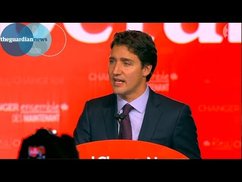 Justin Trudeau's election victory speech: 'Canadians have spoken'
