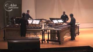 Unleash the Fury (marimba quartet) by Nathan Daughtrey