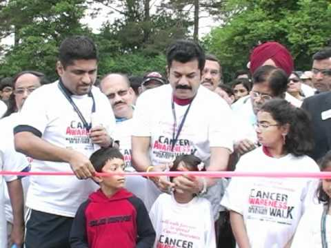 Kerala Club - Cancer Awareness Walk with Mukesh - June 11, 2011