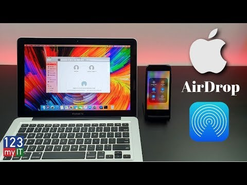 Share files iPhone to Mac with AirDrop
