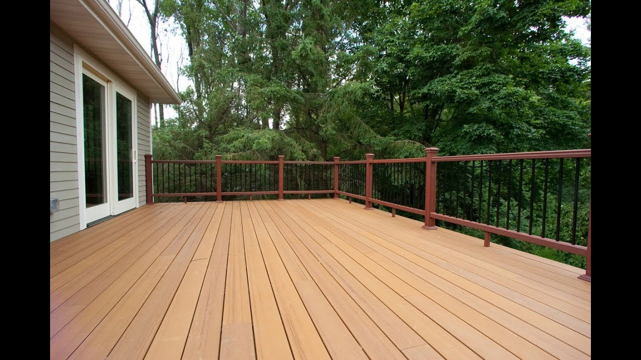Deck construction guide concrete deck plans decking for Ideas for deck designs