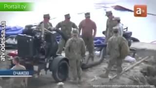 США строят военную базу в Николаеве, Ukraine 2014