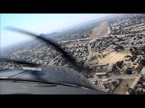 Beech G36, Approach to Dodoma, Tanzania. HD 15/07/2013