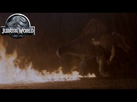 Download Youtube: Jurassic World Spinosaurus - Hybrid Dinosaurs - Jurassic Park Ingen