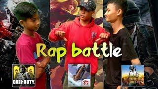 Gambar cover RAP BATTLE (COD mobile, Free Fire, PUBG mobile)