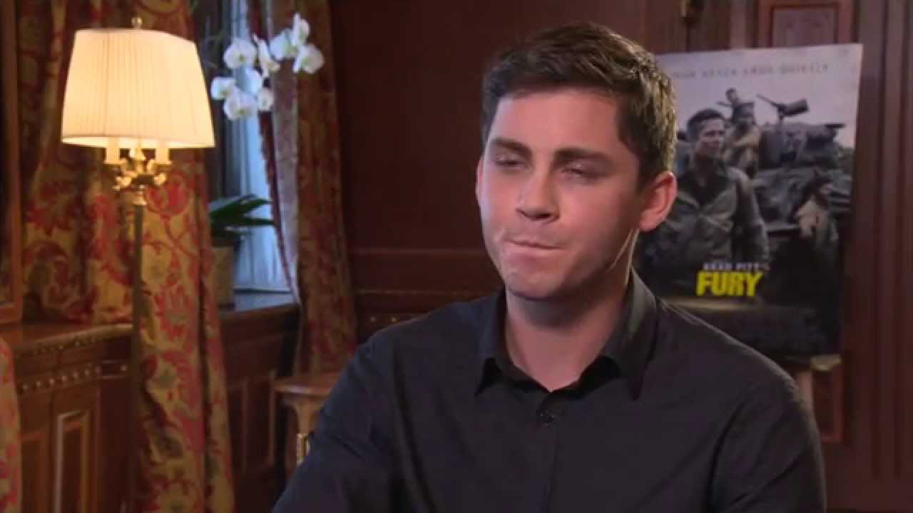 exclusive interview with logan lerman about fury and