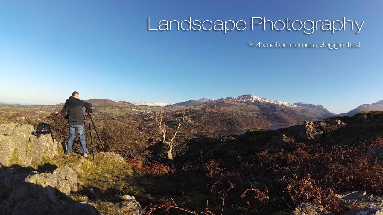 Landscape Photography Testing The Yi 4k Action Camera Vlog 03 Youtube