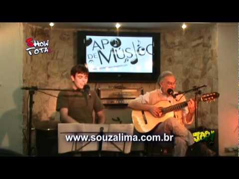 SOUZA LIMA NA TV - SHOW TOTAL - THEO DE BARROS - 01