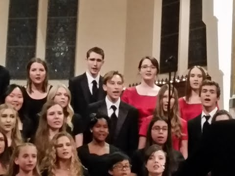 Woodcrest Christian School - Choir Main Set - December 11, 2017