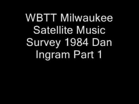 WBTT_Milwaukee_Satellite_Music_Survey_Dan_Ingram_1984_Part_1